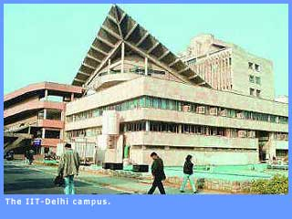 Picture of I.I.T. Delhi campus