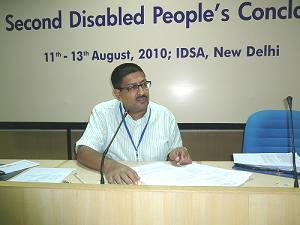 Javed Abidi, Convenor, Disabled Rights Group
